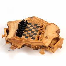olive wood chess set small sized chess board at beldinest