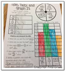 crazy for first grade just graph it sneak peek w freebies
