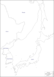 Blank Maps Of Asia by Sea Of Japan East Sea Free Map Free Blank Map Free Outline