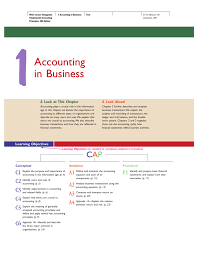 accounting in business mcgraw hill learning solutions