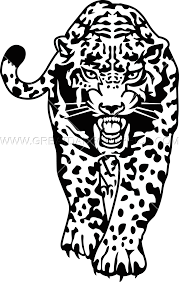 jaguar clipart jaguar walking production ready artwork for t shirt printing