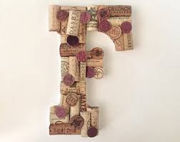 wine cork art etsy