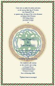 celtic wedding invitations 200 personalized celtic wedding invitations set the