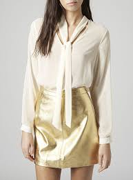 blouses with bows at neck blouse color waterfall dropped back bow tie neck feature
