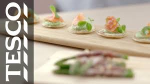 how to canapes ideas for s how to create tasty canapés tesco