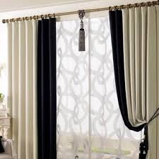 White Black Curtains Black Curtains Living Room Decorating Clear
