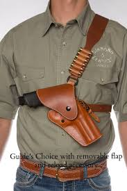 guides choice leather chest holster the ultimate outdoor gun
