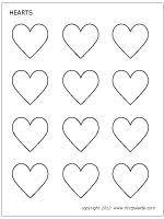 small heart template tutorial cupid heart macarons kids