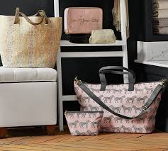 Pottery Barn Classic Diaper Bag Review Be You Tiful Print Ultimate Cosmetic Bag Solid Pottery Barn