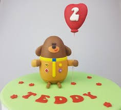 squirrel cake topper edible 3d hey duggee cake topper birthday name age squirrel club