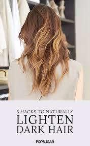 infusium for bleached hair natural ways to lighten dark hair popsugar beauty