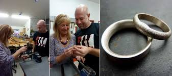 make your own wedding band make your own wedding rings with the mid cornwall school of jewellery