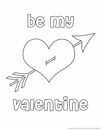 heart page girls valentines valentine heart coloring pages heart