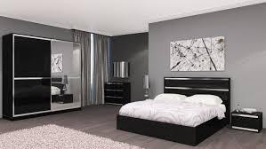 chambre adultes compl鑼e chambre adulte complète design italien chrono noir laqué belfurn