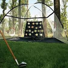 Golf Driving Nets Backyard by Own A Private Golf Course With The New Portable Driving Range