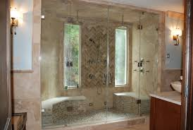 shower bathroom designs bathroom steam shower design with mosaic shower flooring built in