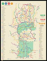 Appalachian Trail Map Virginia by Transit Trail Maps Ari Ofsevit