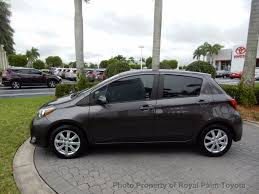 toyota stock symbol 2015 used toyota yaris 5dr liftback automatic le at royal palm