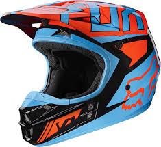 oneal motocross helmet oneal series lizzy orange helmet quad mx off road oneal motocross