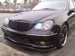 mercedes matte black c class w203 matte black grille 01 07 merc wheels shop for