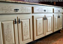 kitchen stencil ideas kitchen cabinet stencils stencil pattern ideas for dressers and