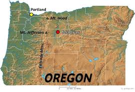 map of oregon showing madras 2017 total solar eclipse madras map