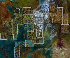 me a map of where i am i am to guilds of war 2 how big is map compared skyrim and