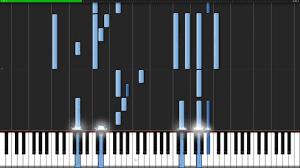 lumis eterne aria the origination piano tutorial synthesia