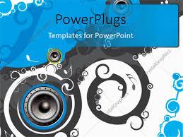 100 music themed powerpoint templates orange powerpoint