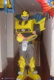 Bumblebee Transformer Halloween Costume Transformers Bumblebee Costume
