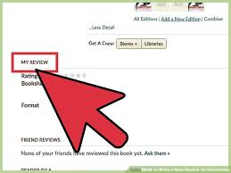 how to write a review on goodreads 15 steps with pictures