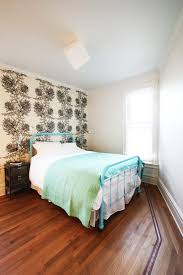 Shabby Chic Style Wallpaper by Portland Asian Bed Frame Bedroom Shabby Chic Style With Beige
