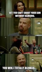 Bet Meme - bet you can t shoot your gun without blinking az meme funny memes