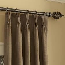 Travis Rods For Drapes Double Traverse Rods For Drapes Classic Elegant Pinch Pleat