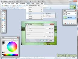 guide how to add effects to your photos using paint net