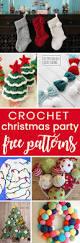 Free Crochet Patterns For Christmas Tree Ornaments Best 25 Free Christmas Crochet Patterns Ideas On Pinterest