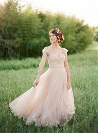 tulle wedding dress blush tulle wedding dresses gowns flosluna flosluna