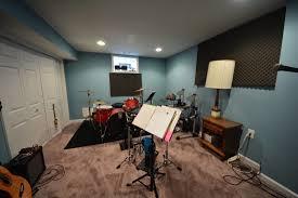 Small Music Studio Desk by Interior Cool Home Music Studio Desk Design With Brick Wall And
