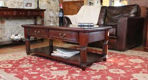 la roque mahogany coffee table with drawers imr08a