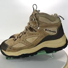 womens walking boots ebay uk columbia coremic ridge mid trail hiking boots brown lace up mens 9