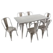 lumisource dt tw au6032 austin 59 x 32 dining table homeclick com
