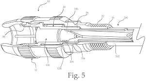 patent us7452239 coax cable port locking terminator device