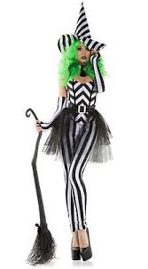 White Corset Halloween Costumes Starline Betel Witch Black U0026 White Striped Corset U0026 Leggings