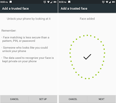 android pattern matching face unlock what is it how to use it android marshmallow