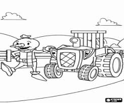 bob builder coloring pages printable games 2