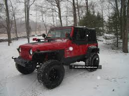 Jeep Wrangler 1998 1998 Jeep Wrangler Ii Tj U2013 Pictures Information And Specs