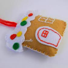 ginger house ornament felt christmas ornaments felt ginger