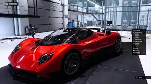 pagani back the crew wild run pagani zonda f customazation youtube