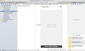 User Story Card Template Ios Xcode Tutorial A Card Based Newsfeed Cw Richard Kim