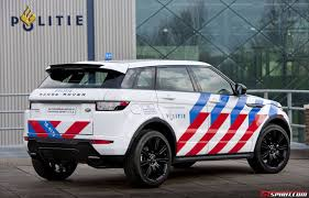 1975 land rover official range rover evoque dynamic business edition in police